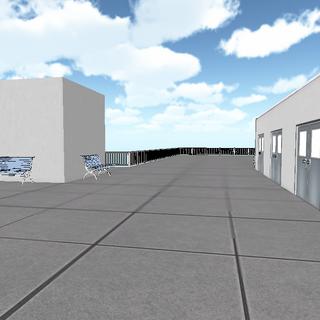 過時的學校屋頂