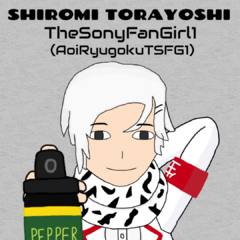 A drawing I made of my 2nd favorite Student Council member, Shiromi Torayoshi!