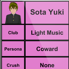 Sota's 2nd profile.