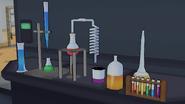 Пробирки с химическими веществами