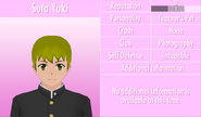6-1-2016 Sota Yuki Profile