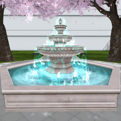 First version of the fountain. January 3rd, 2017.