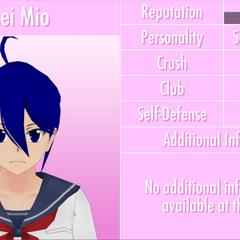 Décimo primeiro perfil de Mei.