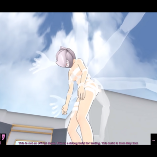 Ayano的頭部特寫