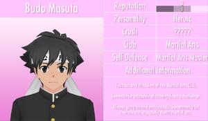 6-1-2016 Budo Masuta Profile