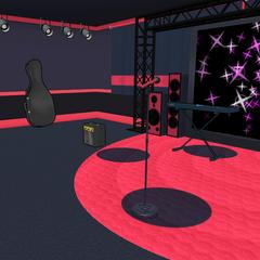 Akane patrolling the Light Music Club.
