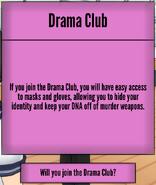 Informacje o klubie teatralnym