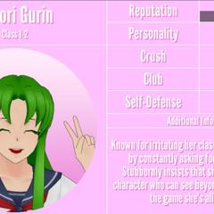 Midori's 11th profile. December 4th, 2019.
