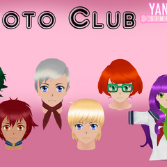 Photography Club member's hair models by <a rel=