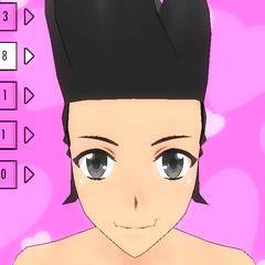 Hair Style #8 (Sideburns)