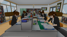 6-29-2016 Teachers in Faculty Room