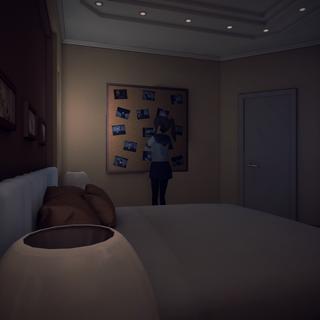 The original bedroom. April 4th, 2014.