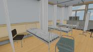 Łóżka pokoju pielęgniarki