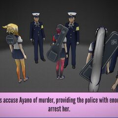 At least five witnesses report Ayano, and their combined account is enough to warrant an arrest.