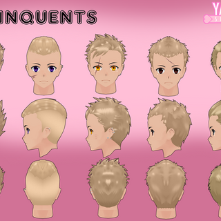 Umeji's hair model by <a rel=