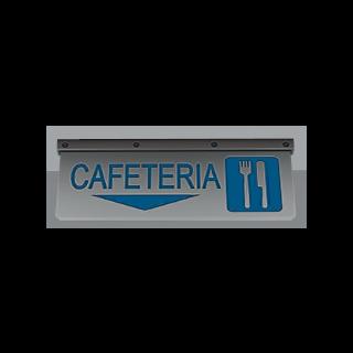 Cartel de Cafetería.