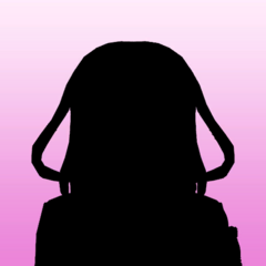 Megami's 1st silhouette portrait. March 14th, 2020.
