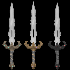 Primera variación del cuchillo de ritual por <a rel=