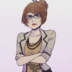 Illustration of Rino Fukahori in