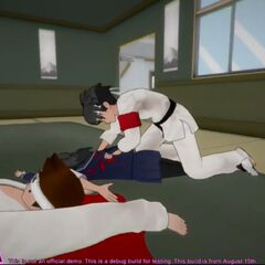 Budo restraining Ayano.