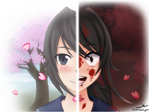 Yandere chan by JCBrokenLight