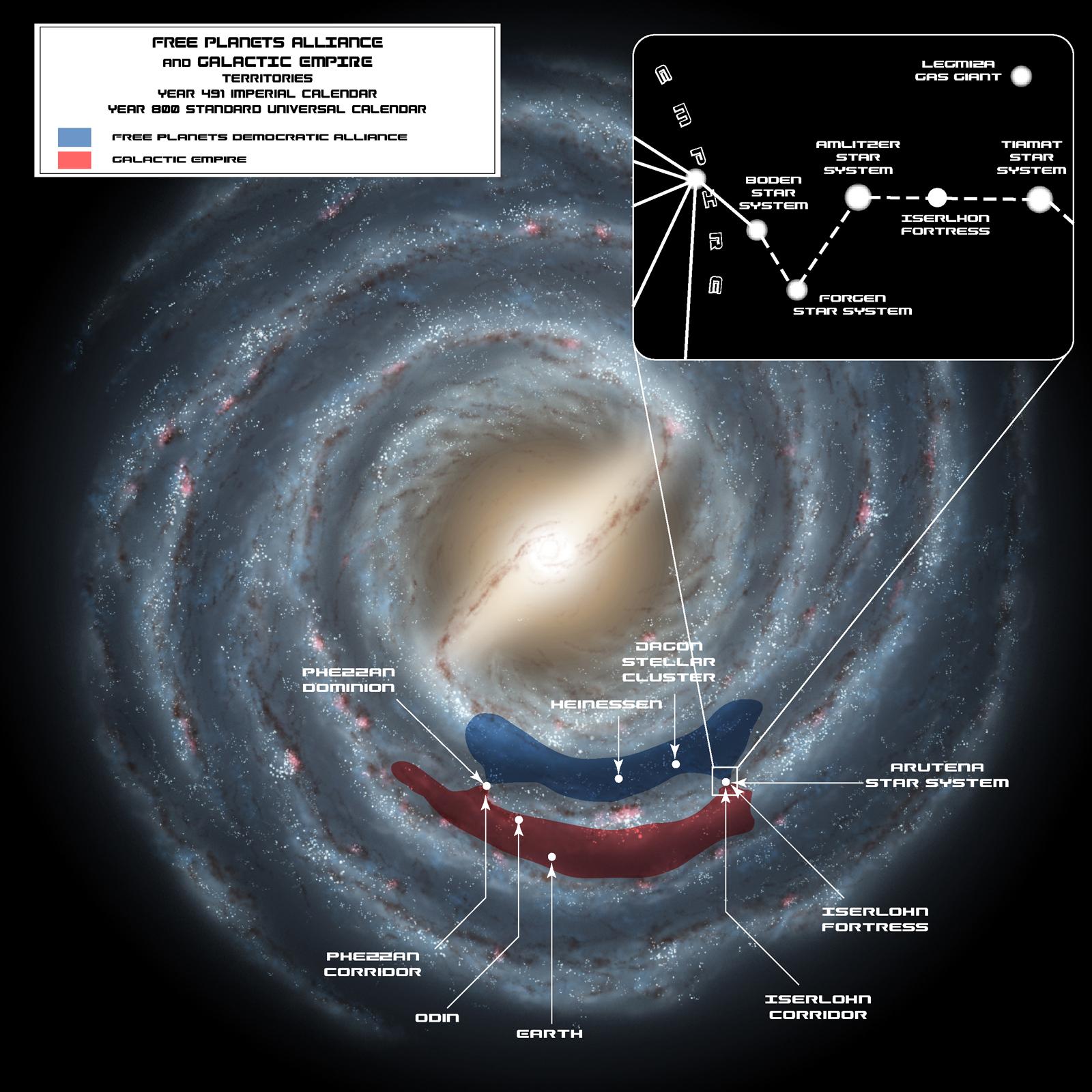 Timeline Legend Of Galactic Heroes Wiki Fandom Powered