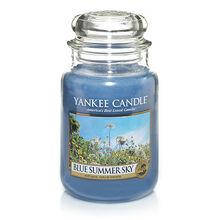 20150215 Blue Summer Sky Lrg Jar yankeecandle com