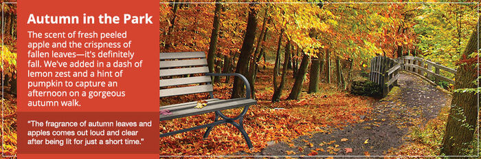 20150827 Autumn In The Park Banner yankeecandle com