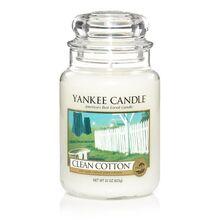 20150126 Clean Cotton Lrg Jar yankeecandle com