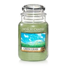 20150209 Green Grass Lrg Jar yankeecandle com