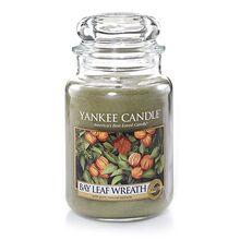 20150203 Bay Leaf Wreath Lrg Jar yankeecandle com