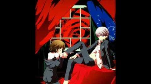 Persona 4 yaoi doujinshi (Trapeziste)