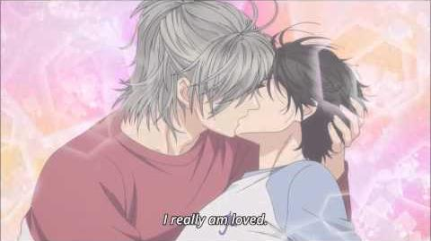 Super Lovers Haru & Ren Kiss Scene YAOI