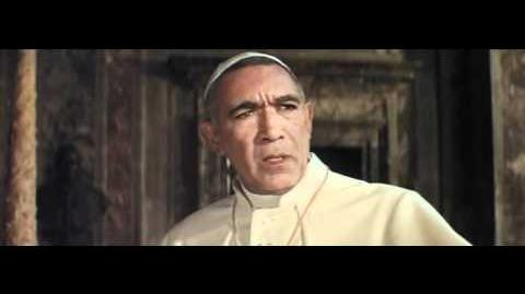 The Shoes of the Fisherman Official Trailer 1 - Anthony Quinn Movie (1968) HD