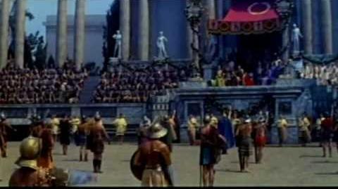Demetrius and The Gladiators Trailer ©1954 Demetrio y los Gladiadores Spanish LA-CR