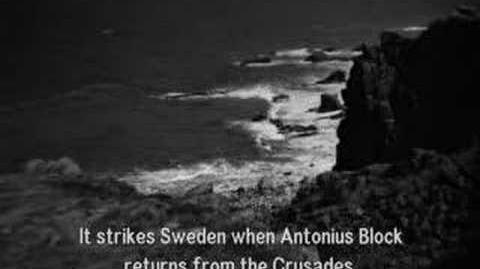 """Ingmar Bergman """"The Seventh Seal"""" (1957) Trailer (SPOILERS)-0"""