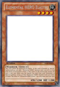 Elemental HERO Elastic