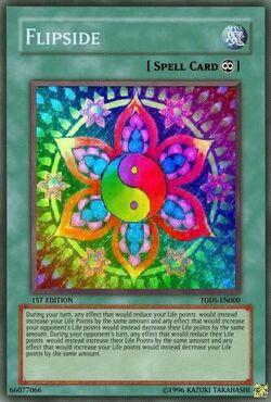 Flipside yugioh card
