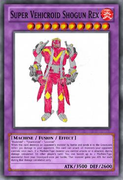 Super Vehicroid Shogun Rex