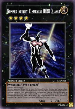 Number Infinity Elemental HERO Quasar