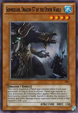 Sonneillon, Dragon-57 of the Othyr Warld