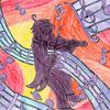 Violinista da Orquestra Negra - Com Fundo - Cópia