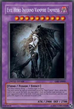 Evil Hero Inferno Vampire Empress