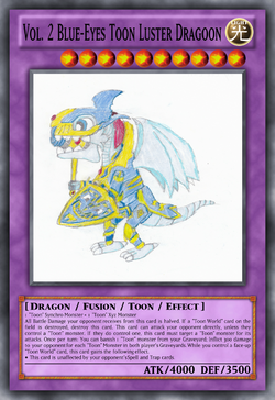 Vol. 2 Blue-Eyes Toon Luster Dragoon