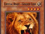 Crystal Beast Golden Lion