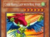Cyber Harpie Lady with Rose Whip