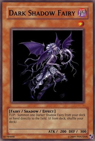 Dark Shadow Fairy | Yu-Gi-Oh Card Maker Wiki | FANDOM powered by Wikia