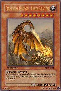 Elemental Dragon - Earth Dragon