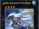 Ashenna, Wolf Queen of the Ice Barrier