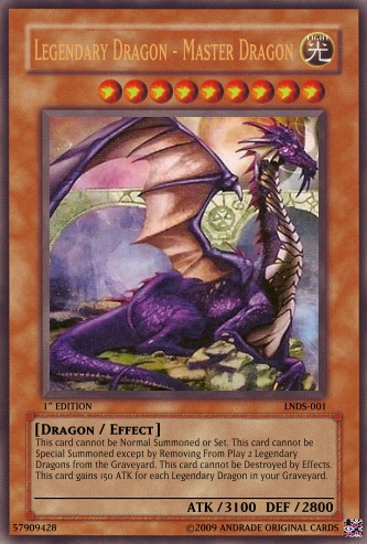 Legendary Dragon - Master Dragon